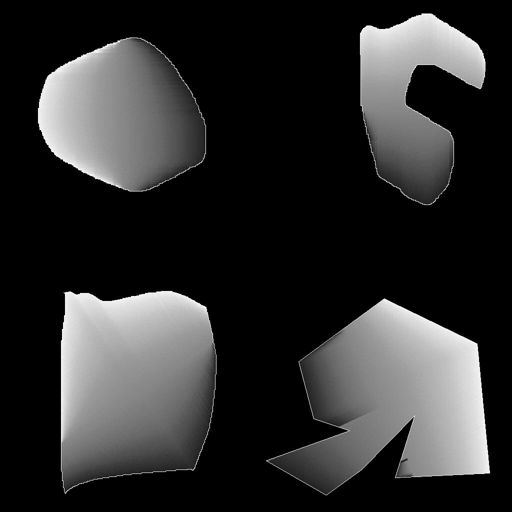 Shaped fill
