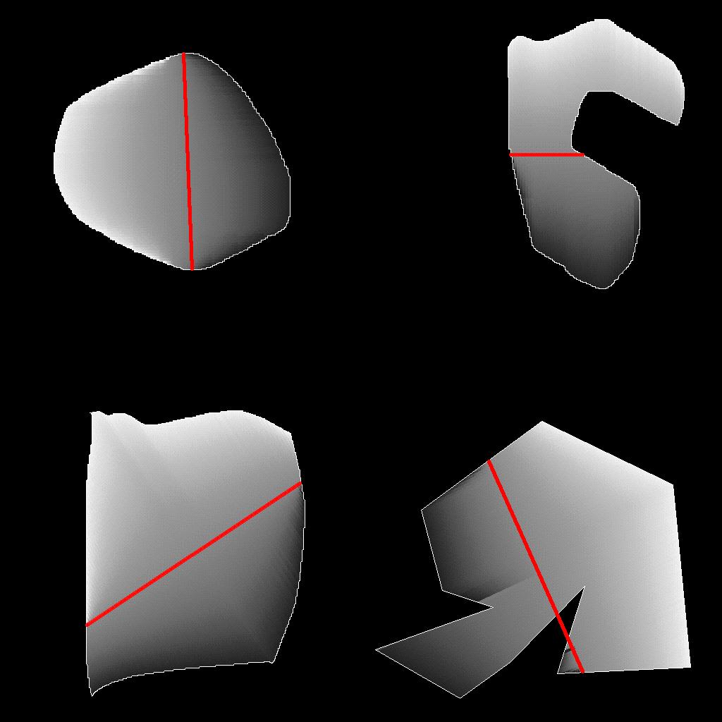 Shaped fill description example